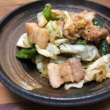豚バラ野菜味噌炒め