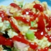 【節約】豆腐スクランブル