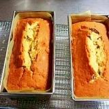 梅酒の梅入りパウンドケーキ