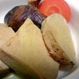 基本のおかず 高野豆腐と野菜の煮物