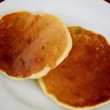 大豆粉とMXベジタブルのパンケーキ