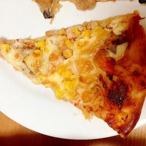 簡単!シーフードピザ