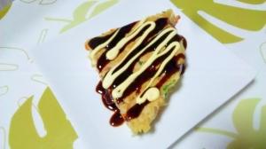 豚ひきお好み焼き++