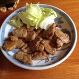 豚ヒレ肉が安かったらこれ!!ニンニク醤油焼