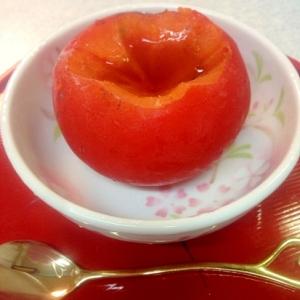 完熟柿は冷凍保存&シャーベット