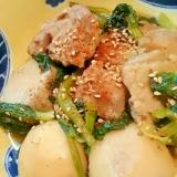 鶏とさといもの韓国風煮もの
