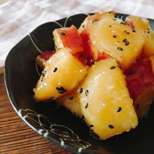 カンロ飴でお手軽、炊飯器でポチッと楽々大学芋