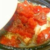 豚バラとイタリアントマトのタジン鍋