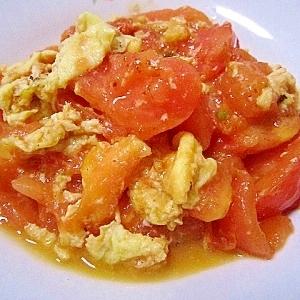 中国家庭料理の定番★トマト玉子炒め(西紅柿炒鶏蛋)