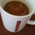 アーモンドミルクで、まろやかコーヒー