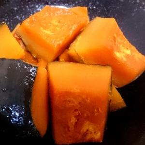 お鍋でカンタン♪かぼちゃの煮付け