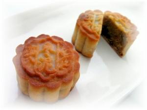 デーツ&白あんde棗泥(なつめあん)月餅