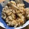 餅米入りでもっちもち!鶏炊き込みご飯