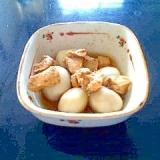 鶏肉と冷凍里芋の煮物