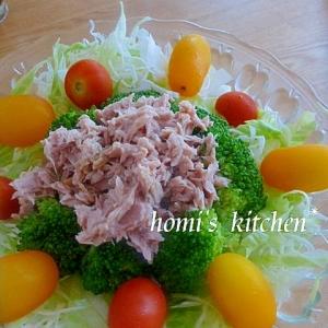 モリモリ食べるキャベツとブロッコリーの彩サラダ