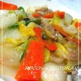 中華味☆とろとろ白菜の八宝菜 Part2