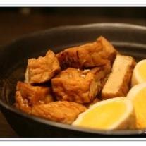 簡単美味しい「 厚揚げと卵の煮物 」