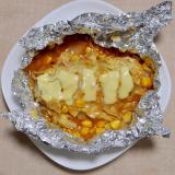 餃子と白菜のホイル焼き