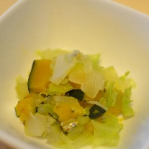 *離乳食後期*野菜といりこの蒸し煮