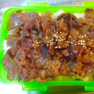 2度美味しいお弁当★海苔弁と牛めし★