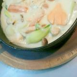 電気圧力鍋で◎鮭ベーコンの手作りクリーミーシチュー