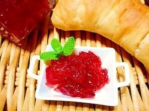 ビーツとリンゴ☆シナモン風味ジャム