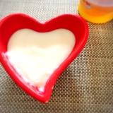 離乳食〜卵小麦粉不使用☆米粉でカスタードもどき