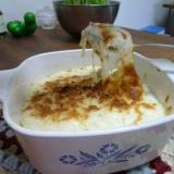 ふわふわ豆腐クリームの長芋チーズグラタン