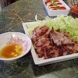 豚ヒレ肉の天ぷら