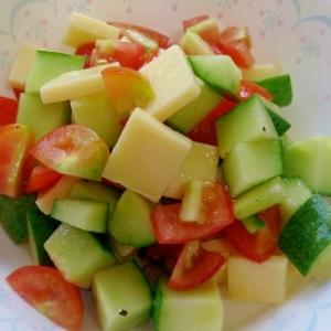 コロコロサラダ~夏野菜~