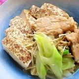 フライパンで簡単!鶏むね肉のすき煮風