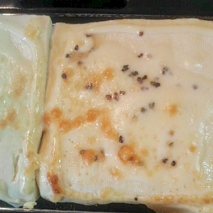 マヨネーズチーズ焼き豆腐