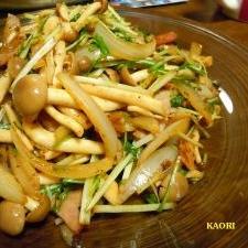 ♪焼肉のタレで野菜炒め♪
