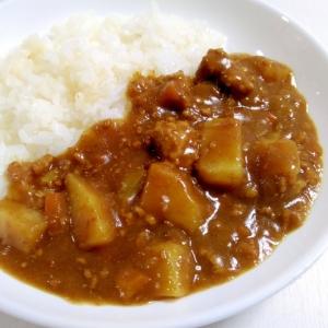 時短メニュー☆挽き肉カレー