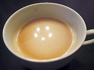 ピーナッツクリームi n HOT ミルクコーヒー