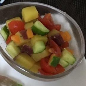 彩りサラダ♪