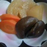 大根と人参と椎茸の煮物
