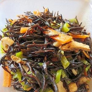 ひじきと野菜の煮物