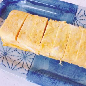 チーズたっぷり卵焼き