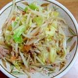 ひき肉の野菜炒め