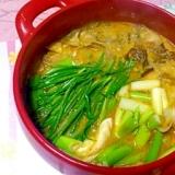牡蠣のチゲ鍋