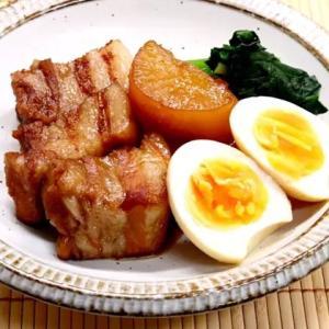 豚の角煮と大根の煮物