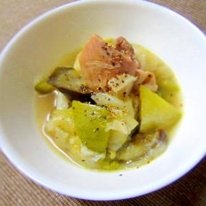 夏野菜のプラチナスープ