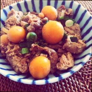 P's亭*簡単おつまみ 鶏もつ煮