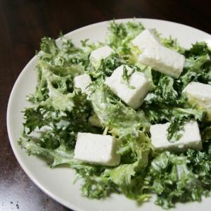 はんぺんのガーリックチーズサラダ