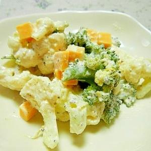 カリフラワーのチーズサラダ