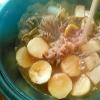 山芋で牛肉入り★芋煮鍋