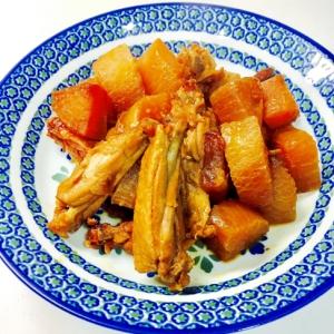 大根と鶏手羽元のさっぱり煮