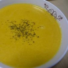 ミキサーを使わない濃厚☆温まるかぼちゃスープ☆