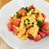 ふわふわ卵とトマトの中華炒め☆
